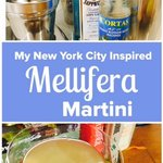 My New York City inspired Mellifera Martini.