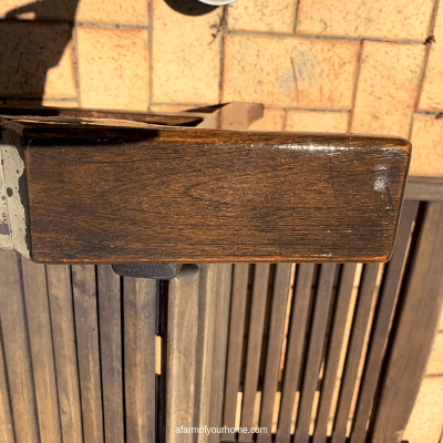 How to restore teak garden furniture